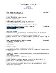 Mental Health Specialist Resume 100 Mental Health Specialist Resume Sample Workers