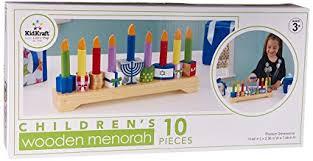 children s menorahs kidkraft children s menorah toys