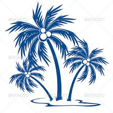silhouette palm trees by dvarg graphicriver