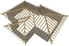tetto padiglione tipologie di coperture in legno lamellare edillamellare