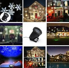 2017 free ship sale snowflake outdoor lights green blue