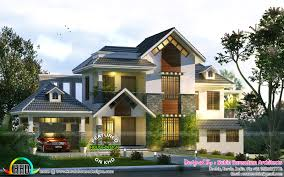 cute home trend of kerala design and floor plans also remarkable