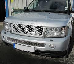 range rover silver grey silver grille side vent upgrade kit range rover sport 05 09