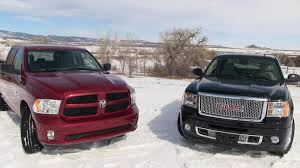 Dodge Ram Cummins 0 60 - gmc sierra denali vs 2013 ram 1500 pickup 0 60 mph mashup review