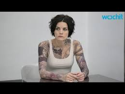 jaimie alexander talks about her blindspot tattoo process youtube
