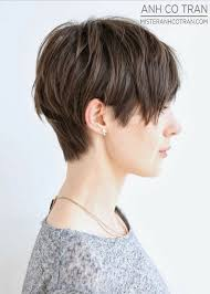 haircut styles longer on sides shorter in back cute short haircut side view only shorter in back to avoid the