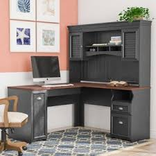L Shaped Office Desk With Hutch L Shaped Desks Birch