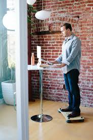 Stand Up Desk Exercises Pono Board Kickstarter A Fitness And Standing Desk Balance Board