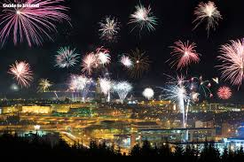 new year s bonfire fireworks tour guide to iceland
