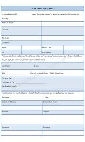 Bill Of Sale As Is Car by Car Dealer Bill Of Sale Form Sample Forms
