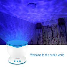 waves night light ceiling projector yoga mandala store