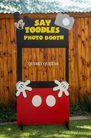 mickey mouse photo booth 38 best decoracion images on party ideas birthday