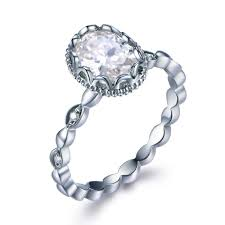 moissanite vintage engagement rings compare prices on moissanite antique engagement rings