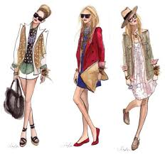 best casual dress sketches latest fashion style