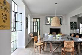 grande table de cuisine grande table de cuisine en bois interiors