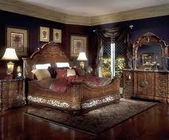 furniture retro master bedroom dark wood furniture interior