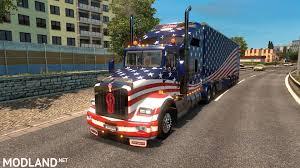 volvo 870 truck kenworth u0026 peterbilt mega truck pack mod for ets 2