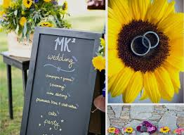 sunflower wedding decorations sunflower wedding decorations rustic wedding partynflower