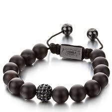 onyx bracelet images Ladies 39 shimla luxury elite matt onyx bracelet sh 051 watch jpg