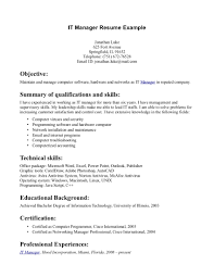 Information Technology Objective Resume Flight Attendant Resume Objectives Resume For Your Job Application