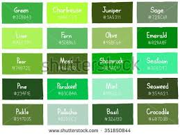 colour shades with names color shades clipart clipground