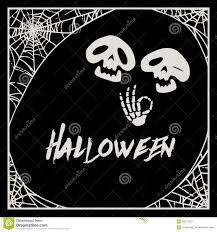 Halloween Pictures Skeletons Vector Cartoon Halloween Skeletons Royalty Free Stock Photography