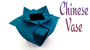 Chinese Vases History How To Make A Paper