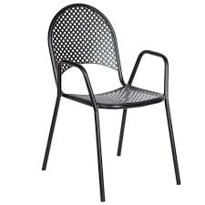 metal patio chair crosley griffith metal chair outdoor lounge