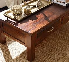 Reclaimed Wood Console Table Pottery Barn Bowry Reclaimed Wood Coffee Table Pottery Barn