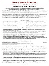 Sample Resume Hr by What Makes An Expert Resume The Best Choice For Your Executive