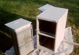 How To Paint A Filing Cabinet How To Paint A Metal File Cabinet U2013 Stop Me If You U0027ve Heard This One