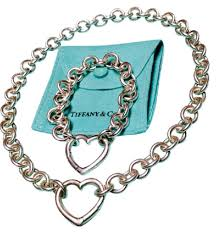 bracelet necklace clasps images Tiffany co co open heart clasp toggle and bracelet necklace jpg