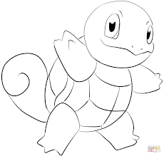 pokemon squirtle coloring pages aecost net aecost net