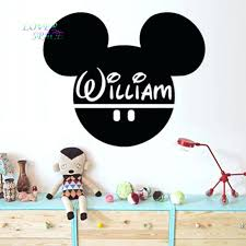 articles with mickey mouse bedroom wall stickers tag mickey mouse vintage mickey mouse sports wall art kids room wall sticker vinyl decorative stickers wall decal custom