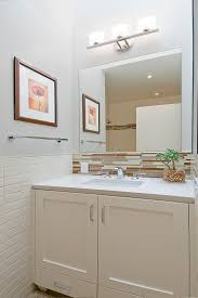 Decorate Bathroom Mirror - half bath designs powder room traditional with bathroom decor