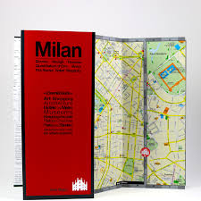 Milan Italy Map International Red Maps Going In Style