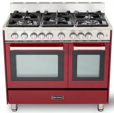 verona appliances dealers verona range 100 kitchen range buy verona vefsgg365ndbu 36 inch burgundy convection double oven gas