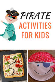 10 pirate learning activities kids