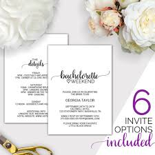 acrylic nail art the one thing thats on every bride to bes itinerary bachelorette weekend invitation w itinerary template