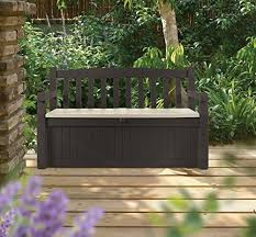 Garden Storage Bench Wooden Top 13 Outdoor Storage Bench Options For Practical Style
