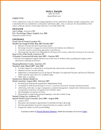 Social Worker Objective On Resume 5 Social Work Resume Objective Statements Farmer Resume