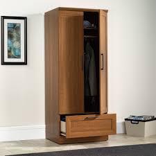 sauder homeplus wardrobe storage cabinet sauder homeplus storage cabinet with drawer brown cabinet designs
