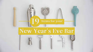 new year items 19 items for your new year s bar martha stewart
