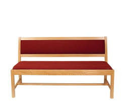 upholstered church bench seating made to order
