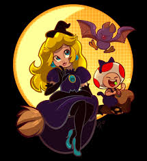 Animated Halloween Graphics by Halloween Peach Super Mario Know Your Meme