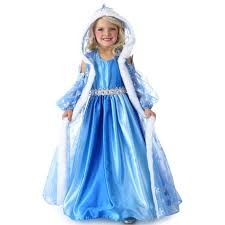 Princess Halloween Costumes Kids Buy Icelyn Winter Princess Dress Cape