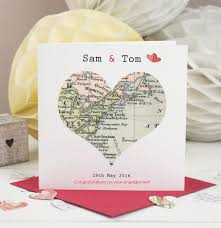 special location vintage map card by designs