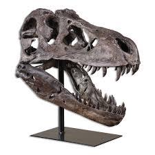 tyrannosauras figurine santa barbara modern home