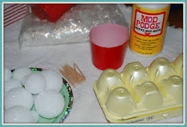 how to make snowballs an easy christmas craft that one mom