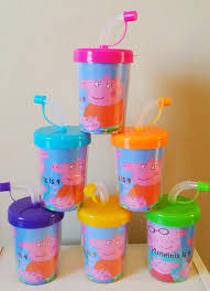 favor cups peppa pig do it yourself party favor cups personalized name age